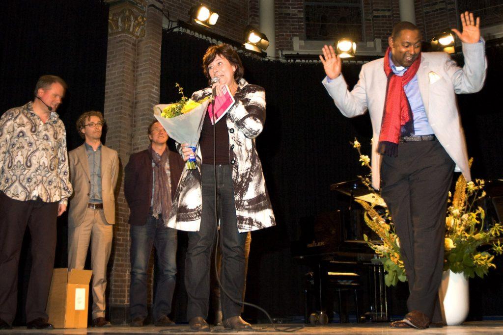 Joost met Rita Verdonk en Carlo Strijk